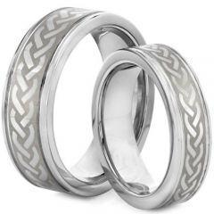 COI Titanium Wedding Band Ring - 2127(Size US5)
