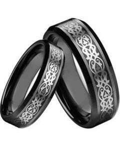 COI Black Titanium Ring - 2189(Size 88mm)