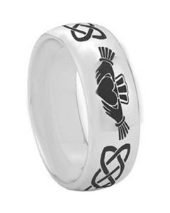*COI Titanium Mo Anam Cara Celtic Dome Court Ring - 2346