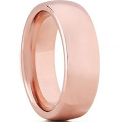 COI Rose Titanium Dome Court Ring - JT3410AA