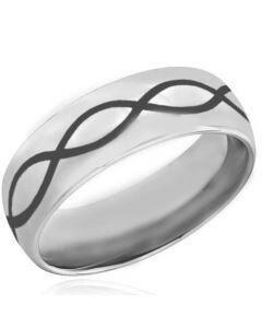COI Titanium Dome Infinity Dome Court Ring - 4036