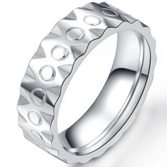 COI Titanium Wedding Band Ring-5405