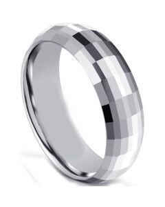 COI Titanium Faceted Ring-5596