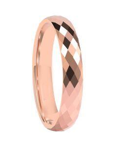 COI Rose Titanium Faceted Ring-5665