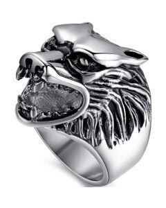 COI Titanium Wolf Ring-5775