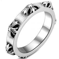 COI Titanium Floral Pattern Ring-5804