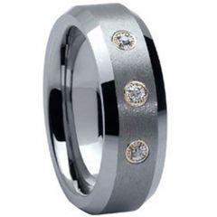 COI Titanium Three-stone Ring-035(US11)