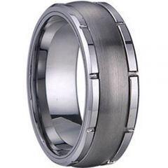 COI Titanium Wedding Band Ring - 1252(Size US5)