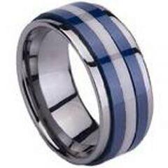 COI Titanium Ring With Ceramic-1408(SIZE:US15)