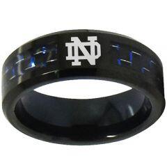 COI Titanium Carbon Fiber Custom Logo Engraving Ring-1753