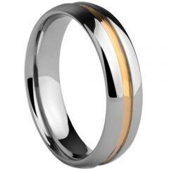 COI Titanium Wedding Band Ring-1814(Size US7.5/11.5)