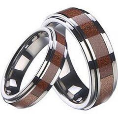 COI Titanium Ring With Ceramic - 2150(US7.5)