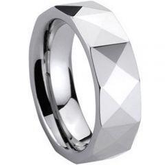 COI Titanium Faceted Ring - 260(Size:US10)