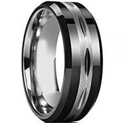 COI Titanium Wedding Band Ring-3726(Size:US13)