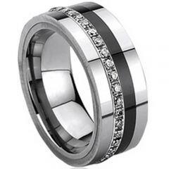 COI Titanium Eternity Ring - 425(Size:#US7.5/12/14.5)