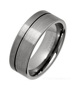 COI Titanium Offset Groove Pipe Cut Flat Ring - JT3719