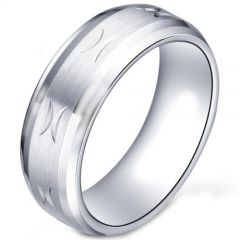 COI Titanium Wedding Band Ring-5178
