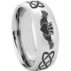 *COI Titanium Mo Anam Cara Celtic Dome Court Ring - 2346