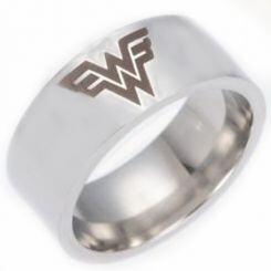 *COI Titanium Wonder Woman Pipe Cut Flat Ring - 4430