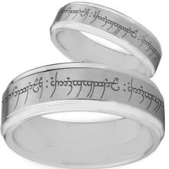 *COI Titanium Lord of the Ring Step Edges Band - 2475