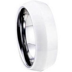 COI Titanium Ring With Ceramic-1278(US9.5)
