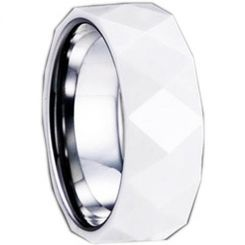 COI Titanium Ring With Ceramic - 1280(Size:US12)