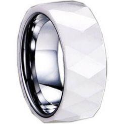 COI Titanium Ring With Ceramic - 1282(Size:US8.5)