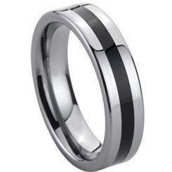 COI Titanium Ring With Ceramic - 139(Size US7)