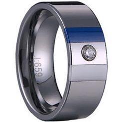 COI Titanium Ring With Ceramic-1529(US10.5)