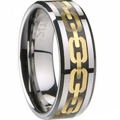 COI Titanium Ring - 2039(Size US6.5/13)
