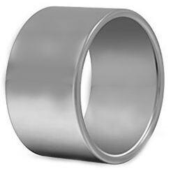 COI Platinum White Titanium Pipe Cut Flat Ring - JT2363