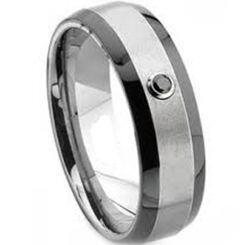 COI Titanium Ring - 2444(Size US8)