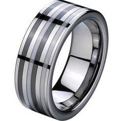 COI Titanium Ring With Ceramic - 2758(Size US10.5)