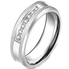 COI Titanium Ring - 2125(Size:US8.5)