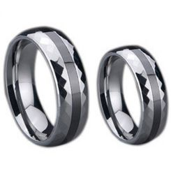 COI Titanium Ring With Ceramic - 725(Size US7)