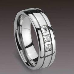 COI Titanium Ring - 892(Size:US11.5)